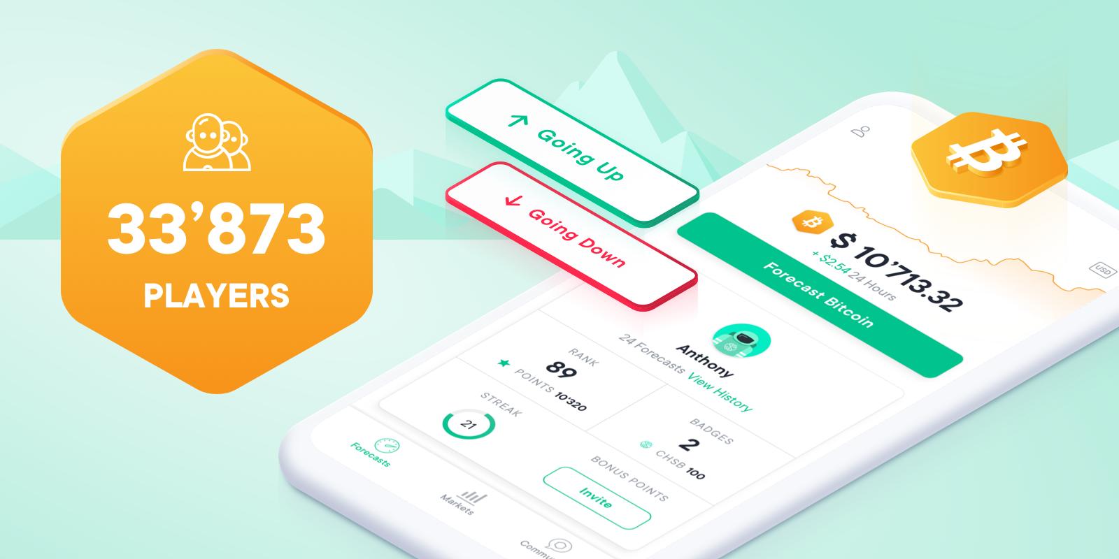 SwissBorg Community app players