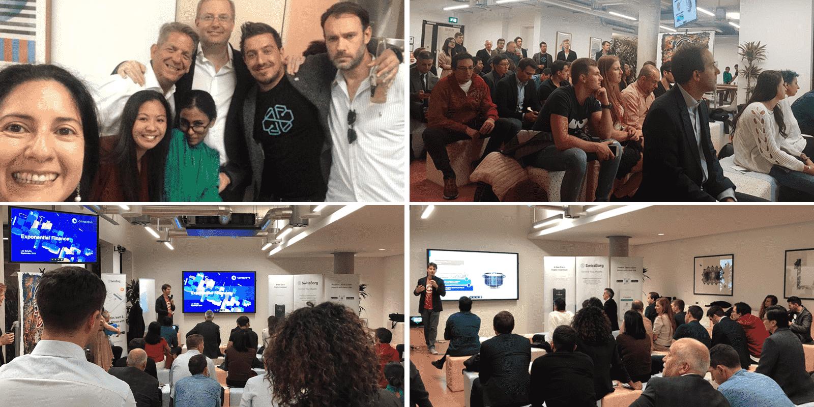 SwissBorg at the London Blockchain Forum: Crypto Reunion