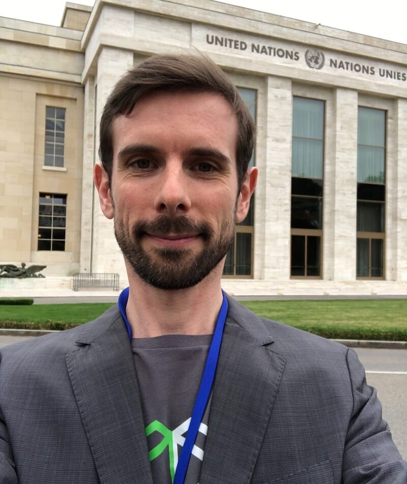 Nicolas Rémond at Libra United Nations Geneva