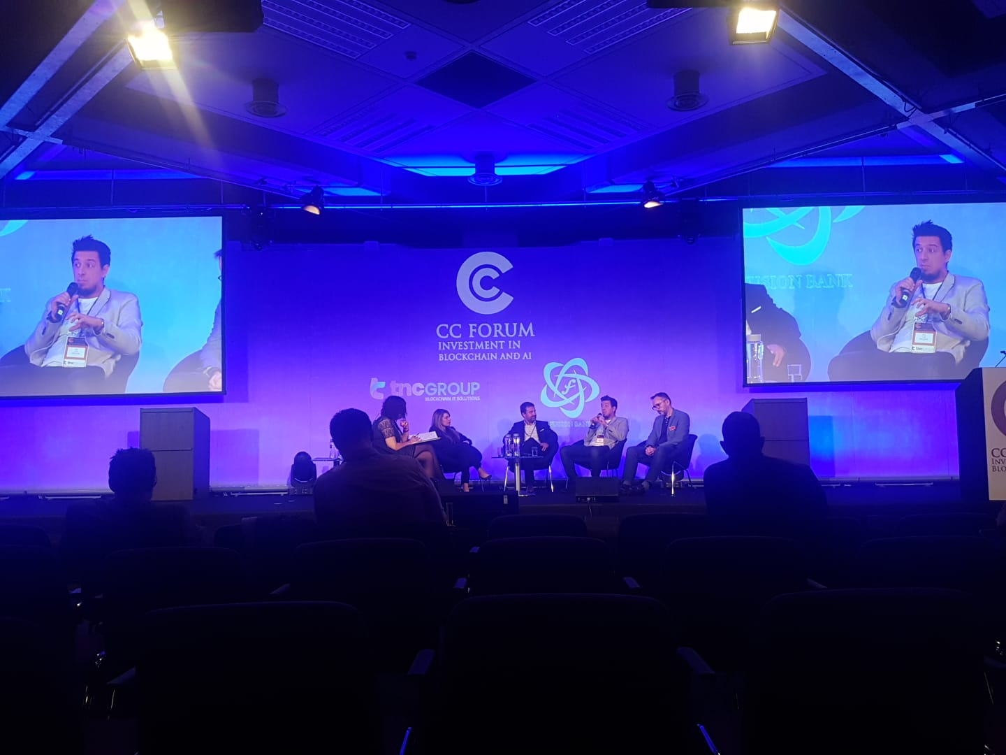 Panel discussion with CC Forum London