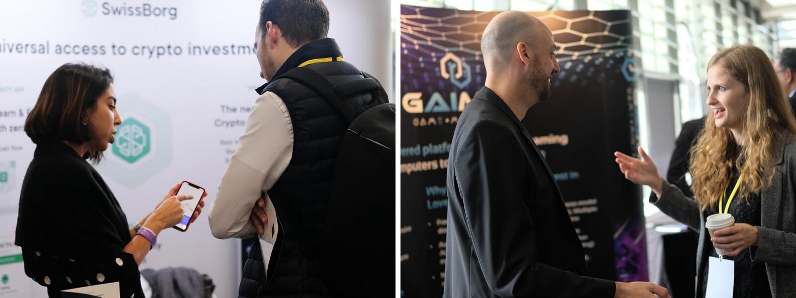 SwissBorg team at CC Forum 2019 London