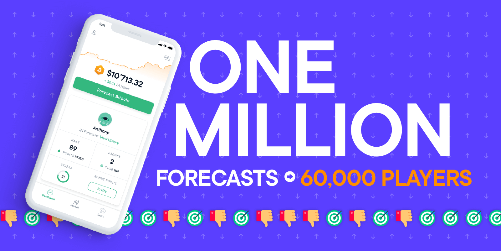 one million forecasts and 60,000 players swissborg community app