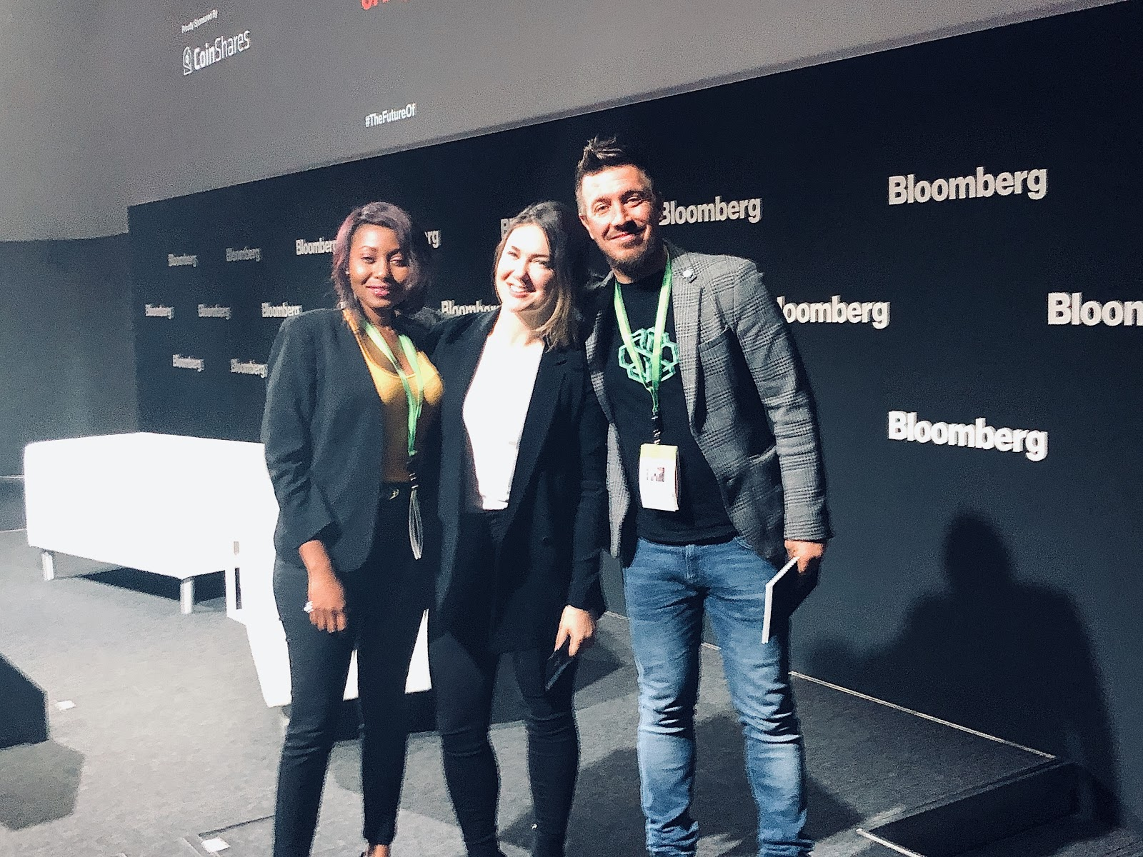 alex fazel at bloomberg offices