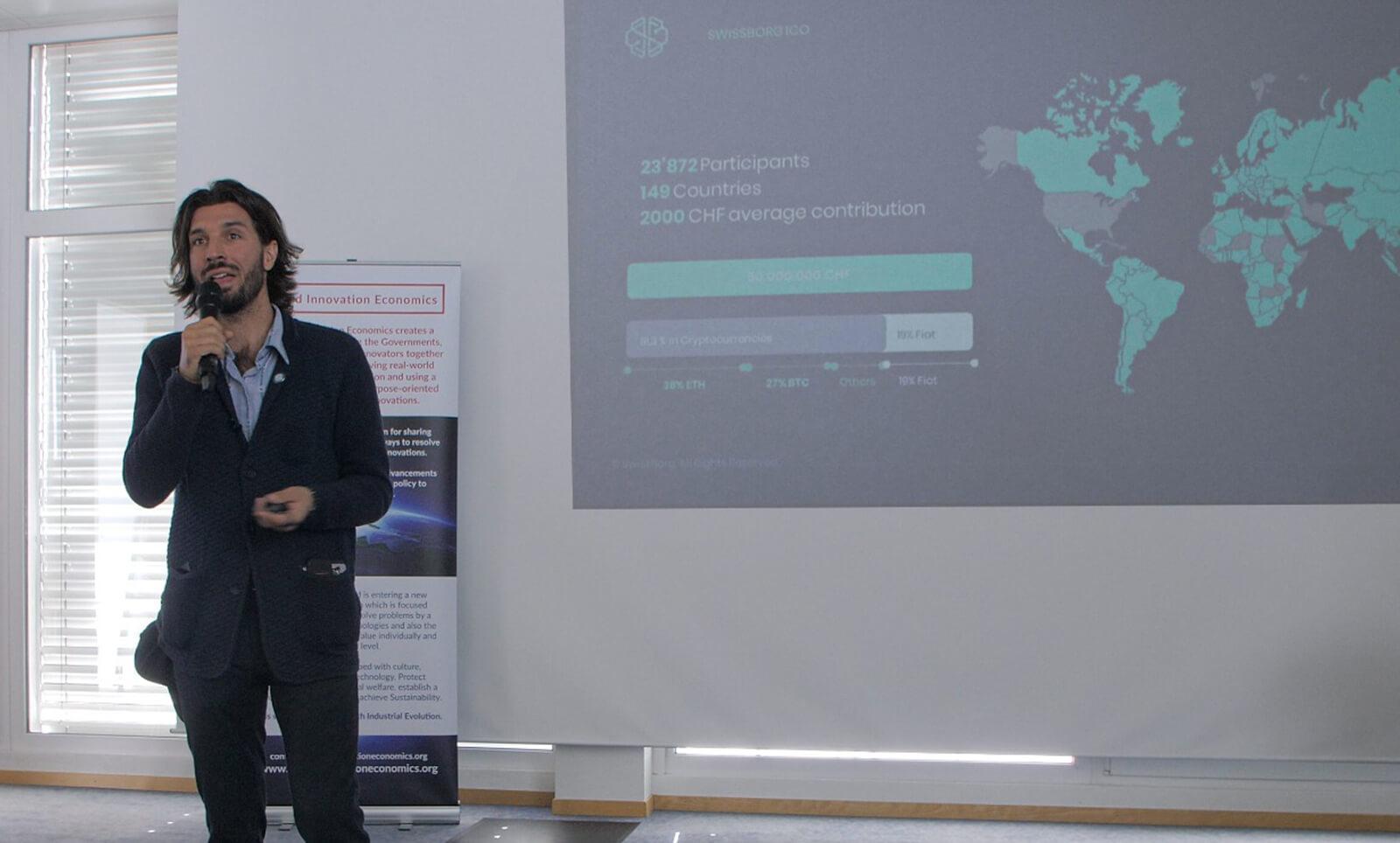 Cyrus Fazel smart engine talk at WEF in Davos