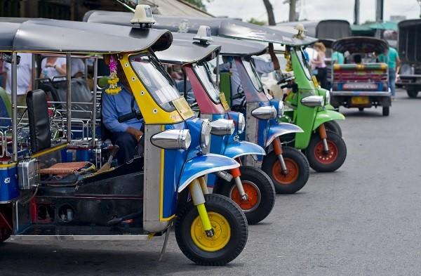 Tuk Tuks Thailand
