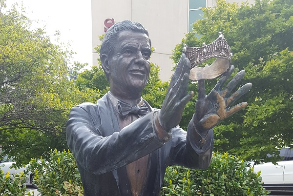 Miss America Pageant Statue