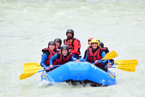 Mark White Water Rafting