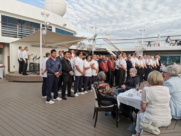 White Night Crew Azamara Journey