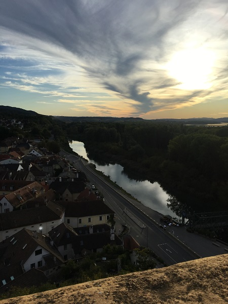 Sunset From Bridge