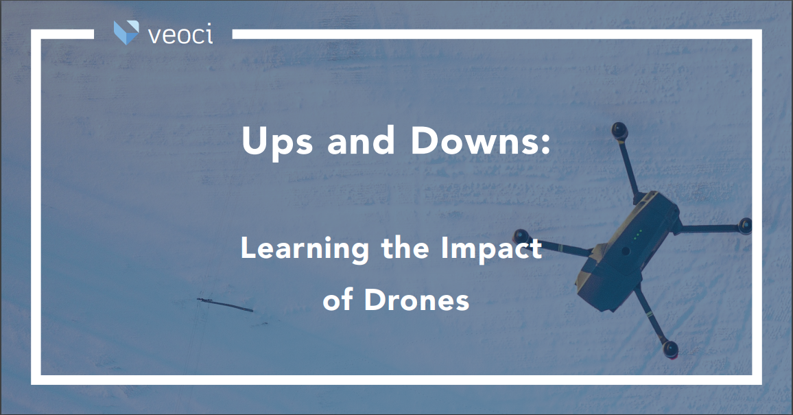 Ups and Downs: Learning the Impact of Drones