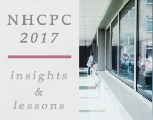 NHCPC 2017: Insights From the Conference