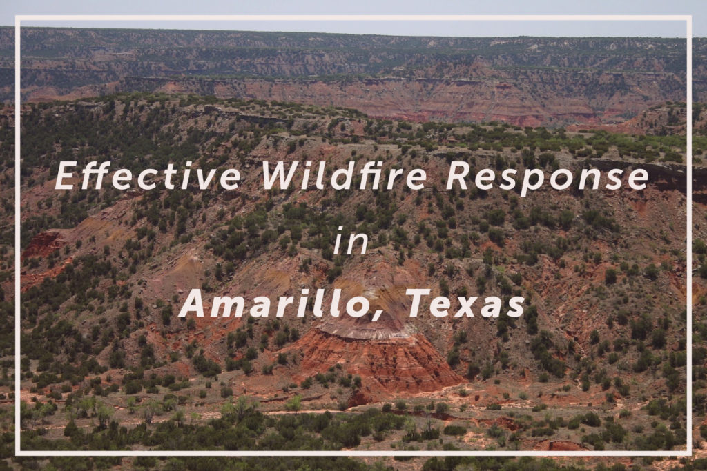 Effective Wildfire Responses: How the City of Amarillo, Texas, Digitally Manages Wildfires