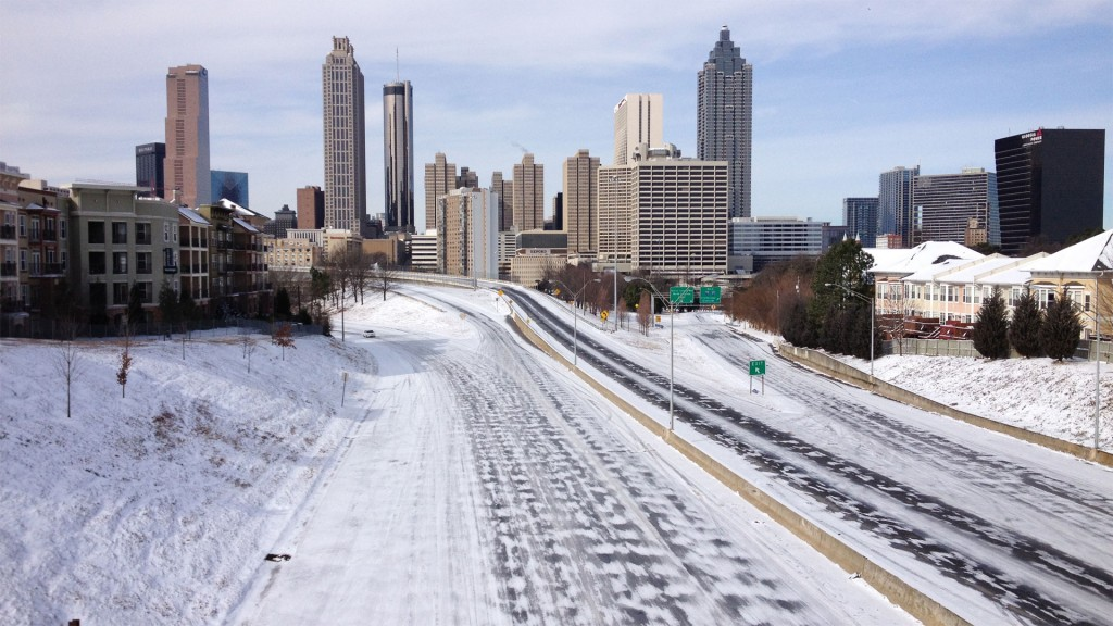 Lessons from Atlanta's Snowstorm, January 2014
