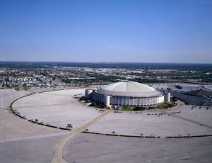 Old structures like the Houston Astrodome can be very useful in large scale emergency management operations.