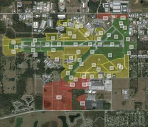 Veoci's GIS Map Layering
