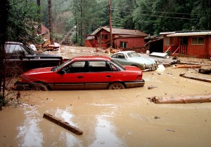Flooding from El Niño, 1998