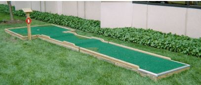 A 9 hole mini golf course with various obstacles including a Loop-d-Loop. (Requires minimum 60' x 60' area)