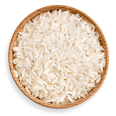 Parboiled rice bowl