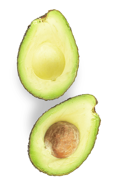 Avocado halved