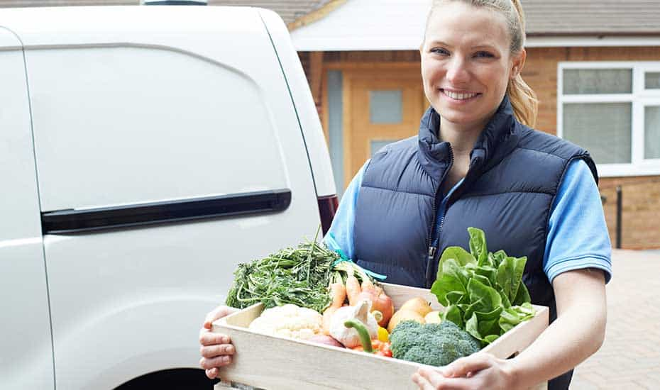 wholesale organic food delivery