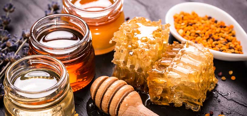 different types of organic honey