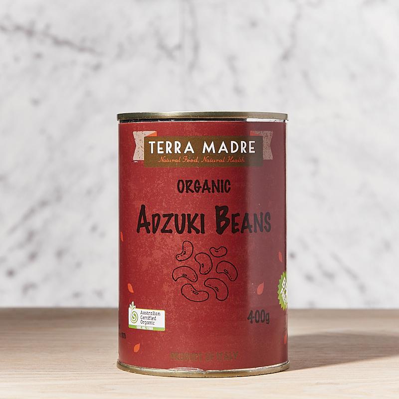Beans Adzuki Organic 400g X 12