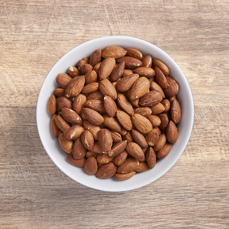 Almonds Dry Roasted Organic 5kg