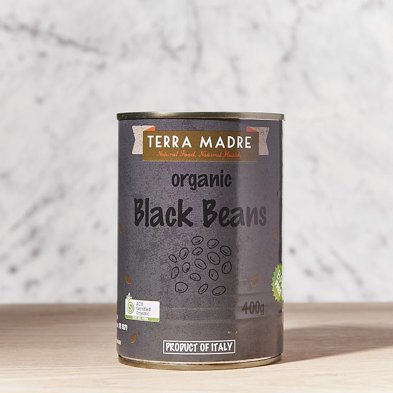 Beans (Black Beans) Organic 400g x12