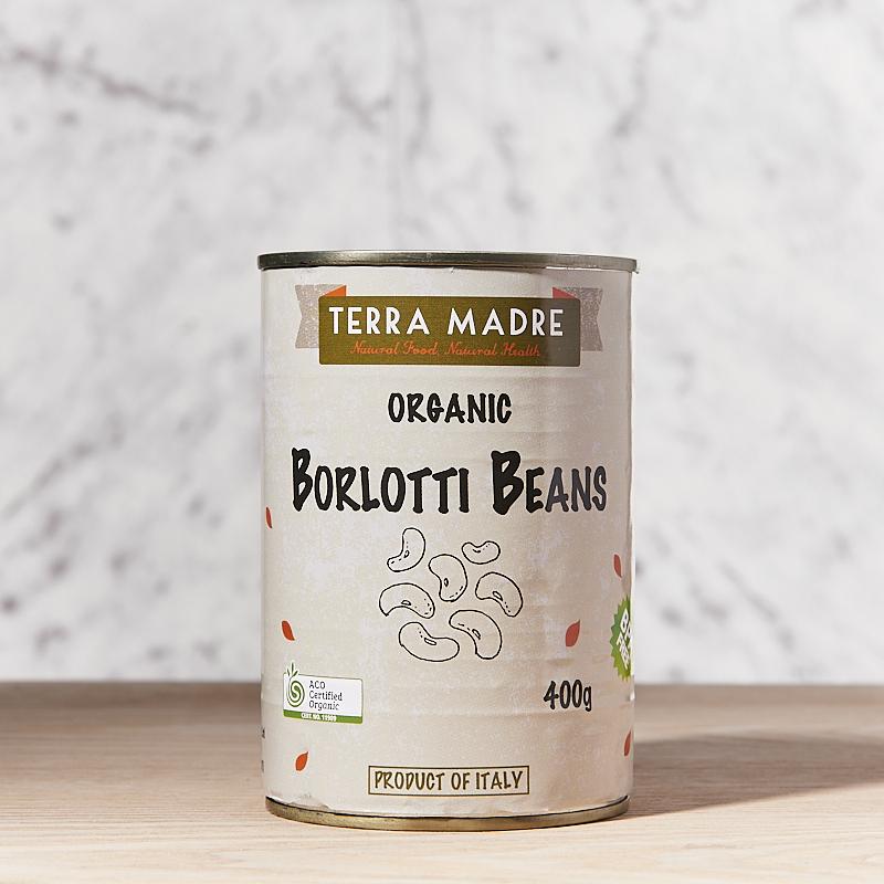 Beans (Borlotti Beans) Organic 400g x12