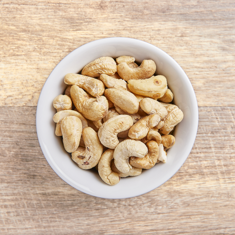Cashews Raw Whole  Mixed Grade B Organic 22.68kg