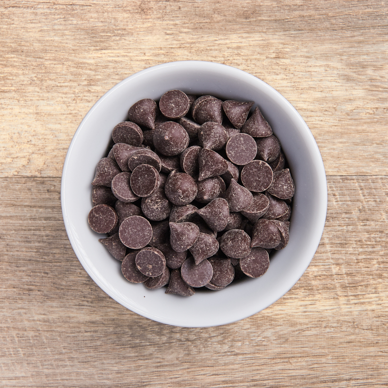 Choc Drops Dark Organic 15kg