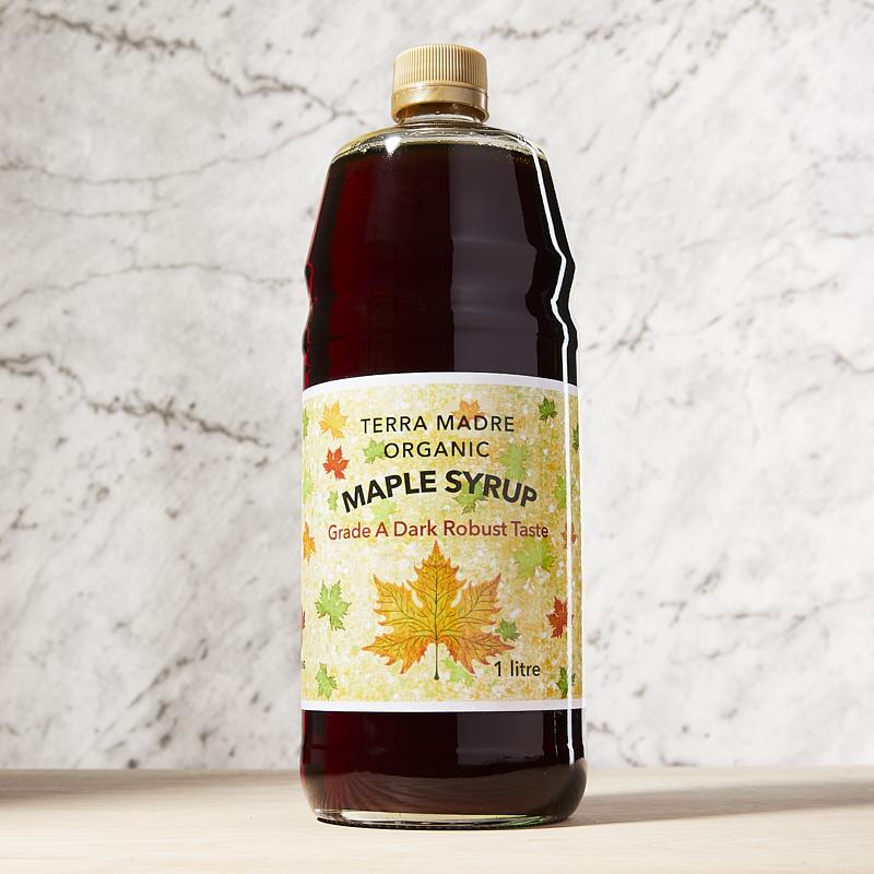 Maple Syrup Grade A Amber Organic 1L x12