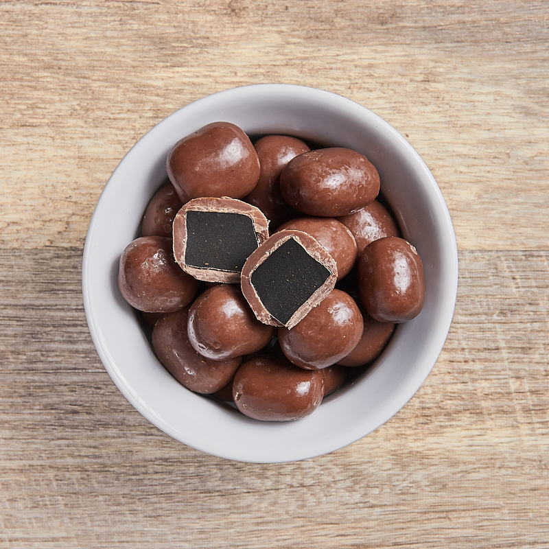 Milk Chocolate Licorice Org 4kg