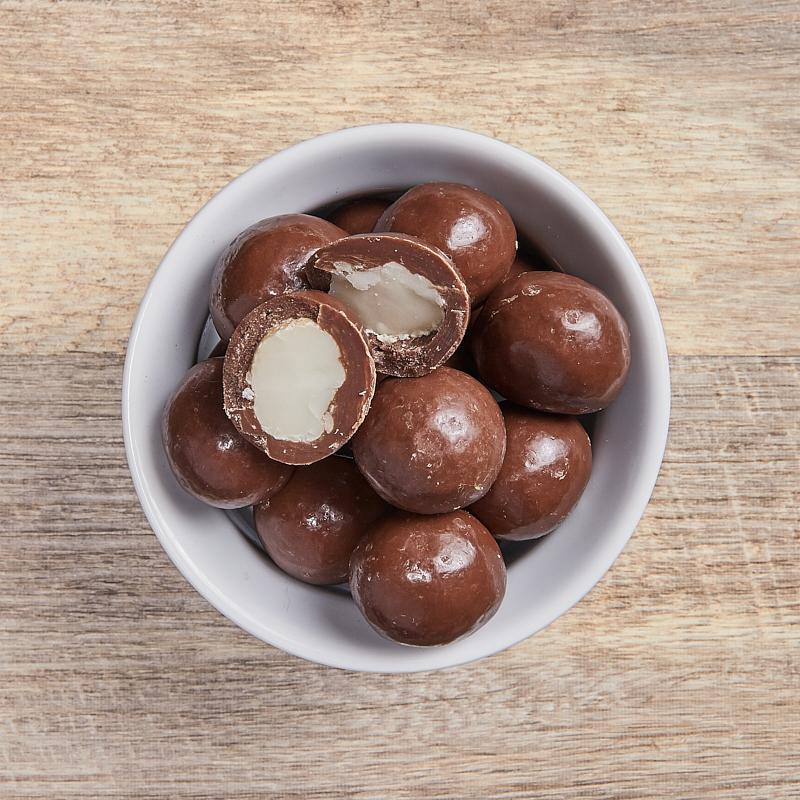 Milk Chocolate Macadamias Org 4kg