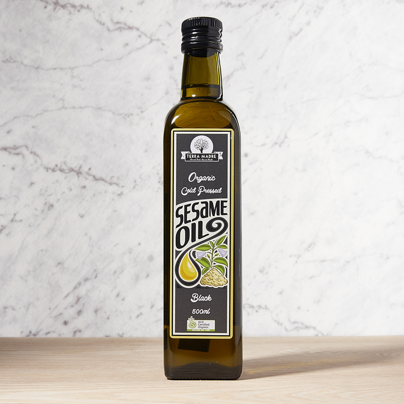 Sesame Oil Black Extra Virgin Organic 5L