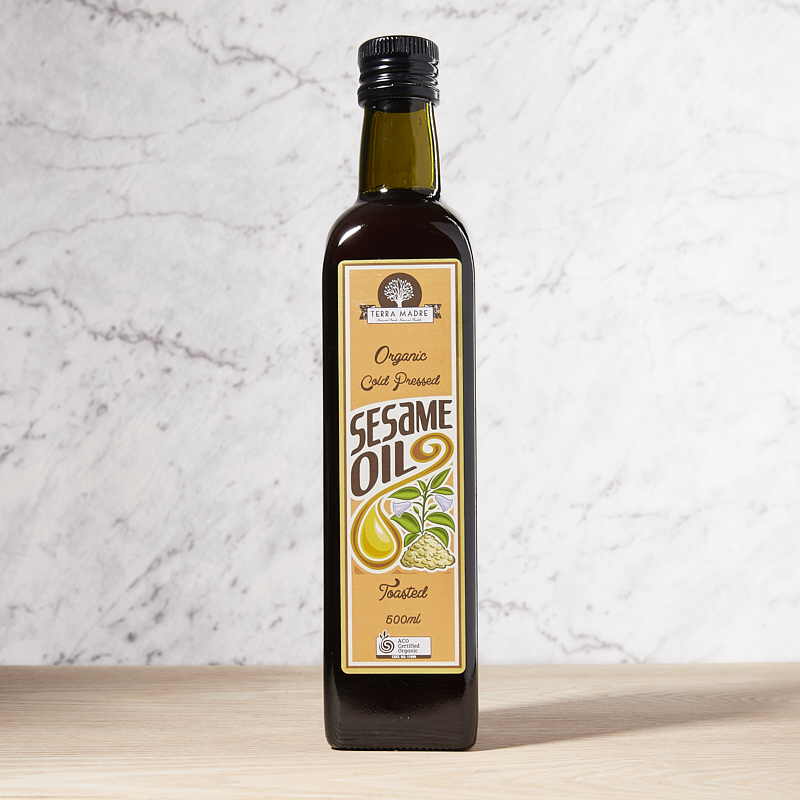 Sesame Oil Toasted Organic 5L