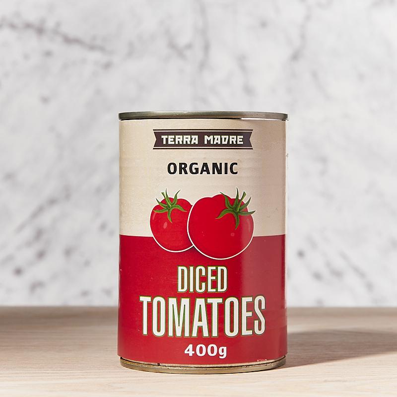 Tomatoes Diced/Chopped Organic  400g x12