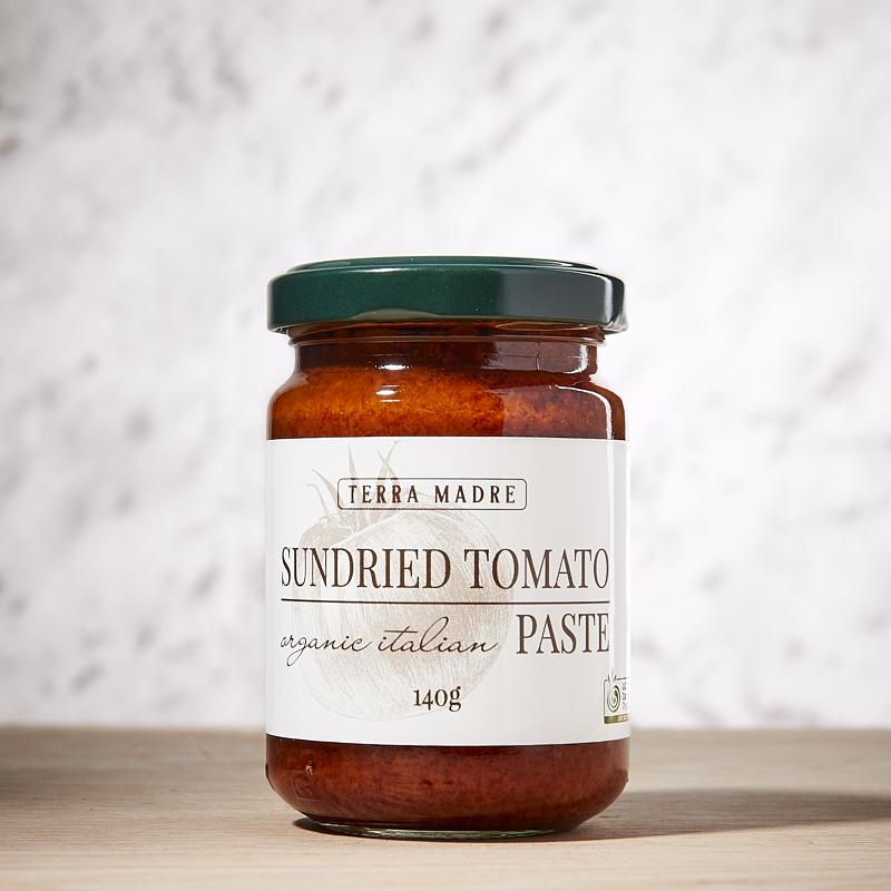 Sundried Tomato Paste Organic TM 6x140gm