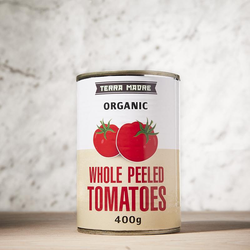Tomatoes Whole Organic 400g x12