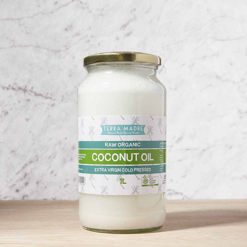 Coconut Oil Extra Virgin Organic 1L x4