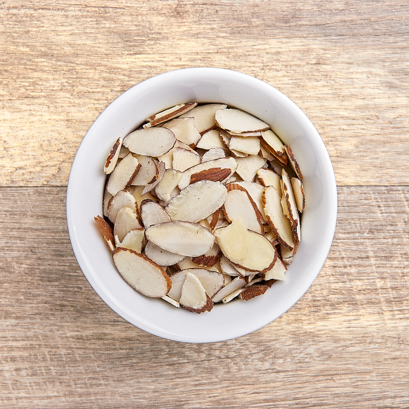 Almonds Sliced Natural Conventional 9kg