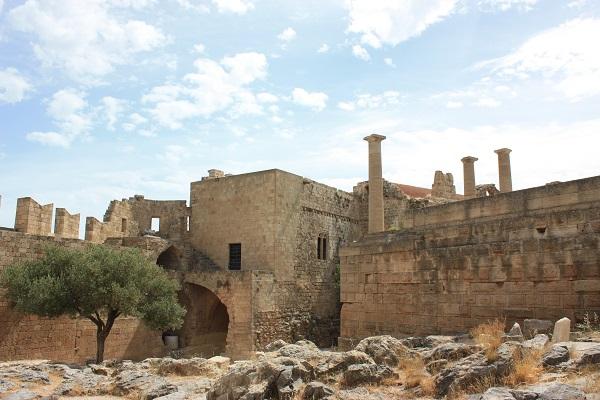 Lindos Acropolis Rhodes