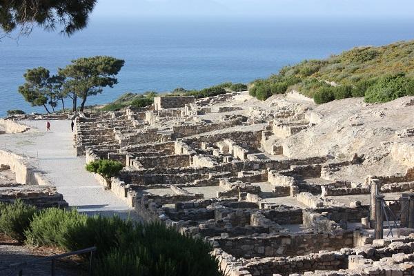 Kamiros Ruins Rhodes
