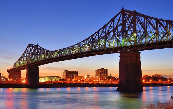 Jacques Cartier Bridge Montreal