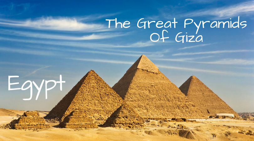 Egypt, Great Pyramids of Giza