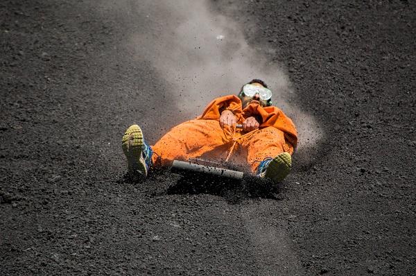 Volcano Surfing