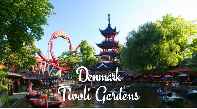Denmark Tivoli Gardens