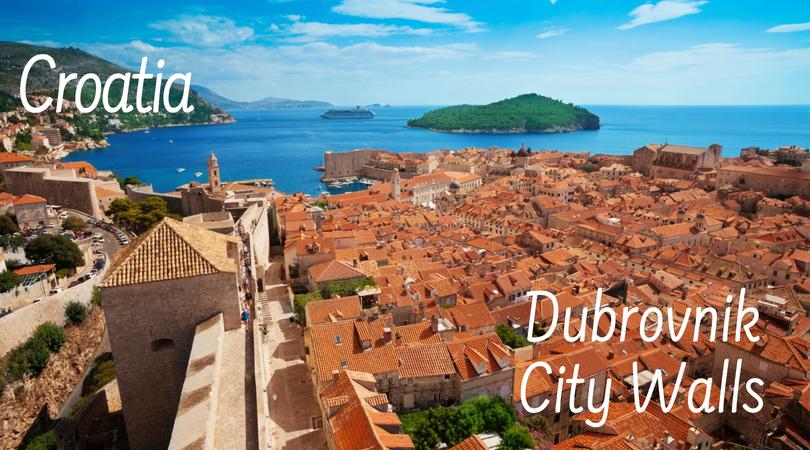 Croatia Dubrovnik City Walls