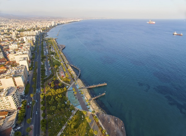 Aerial View Of Limassol