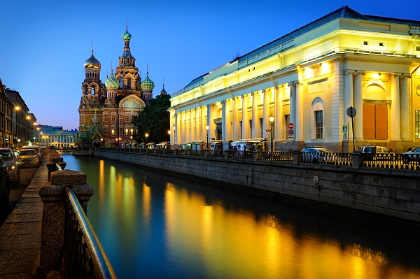 White Nights Of St Petersburg